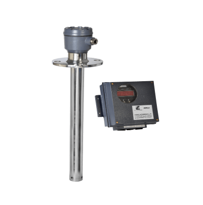Level sensor for Extractor Feed Hopper