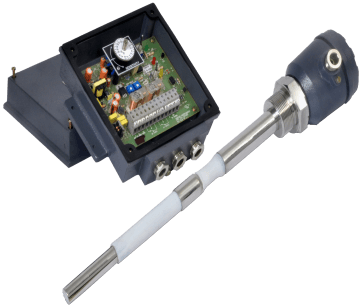SLA_B: RF Admittance Type Level Sensor for High Temperature Solids