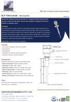 Vibrating Rod Level Sensor Datasheet