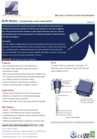 Conductive Level Sensor Datasheet