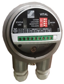 Top-View of Vital - Vibrating Fork Level Sensor