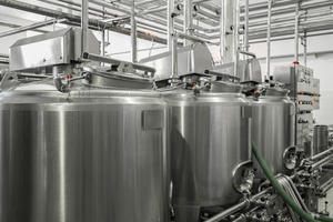 level sensors for pasteurized milk storage